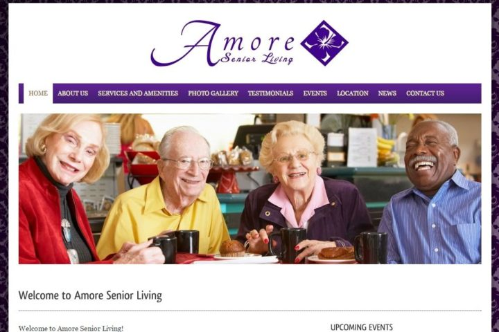 amore-senior-living-website-screenshot