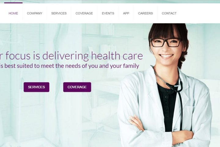prevail-home-healthcare-website-screenshot
