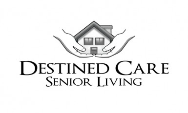Destined Care Senior Living Logo white