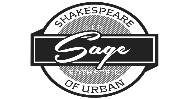 Shakespeare Of Urban Website and Logo