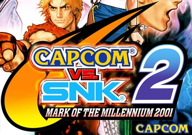 Capcom vs snk 2 logo