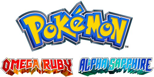 Pokemon Omega Ruby Alpha Sapphire Logo