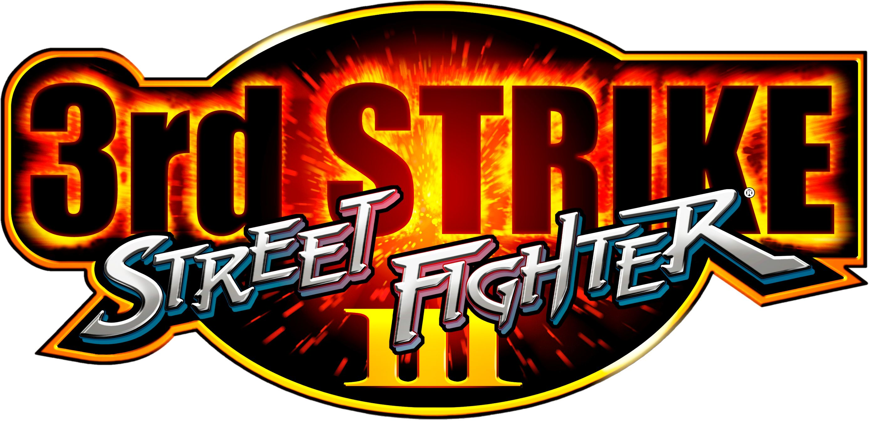 Street Fighter 3rd Strike Logo