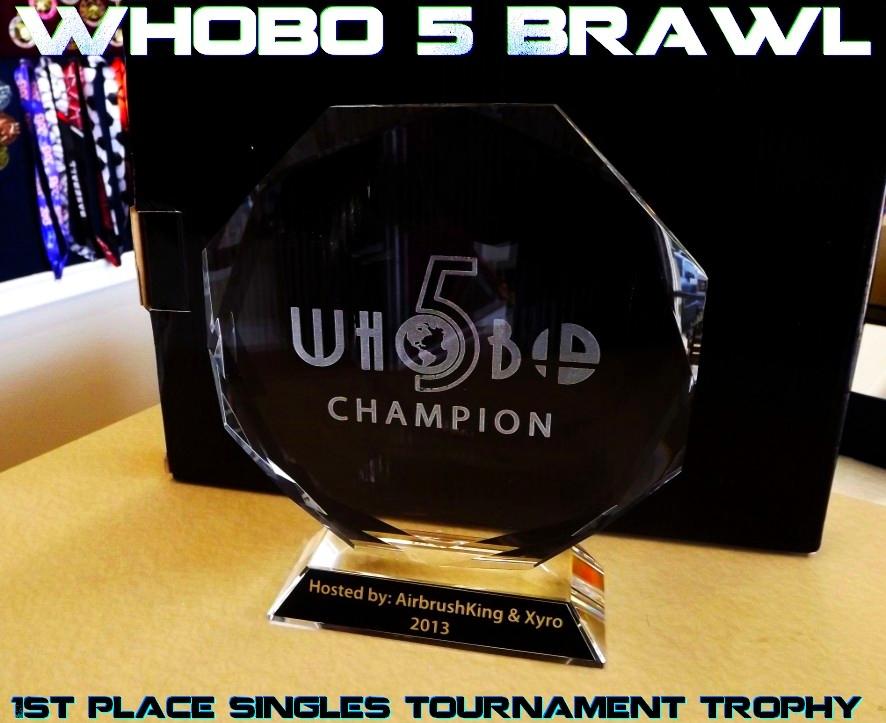 Whobo 5 Trophy