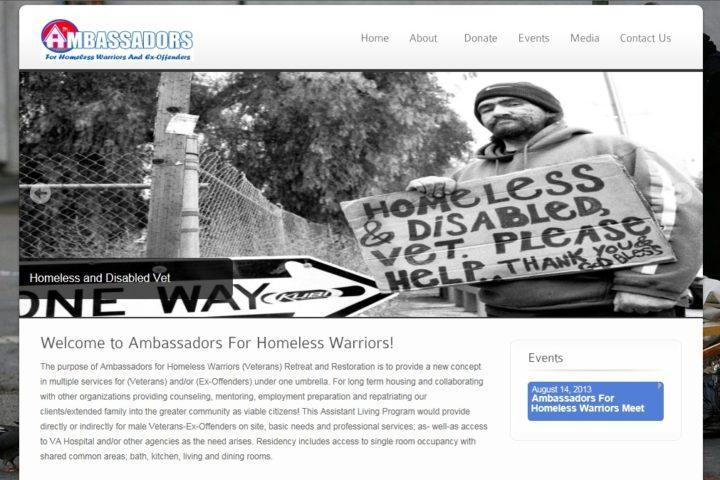 ambassadors-for-homeless-warriors-website-screenshot