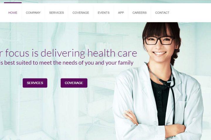 prevail-home-healthcare-website-screenshot